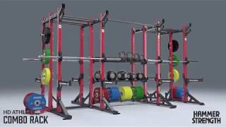 Hammer Strength HD Athletic Combo Rack
