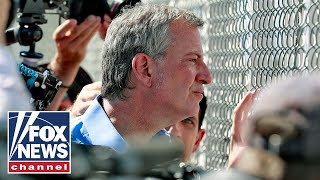 Border Patrol claims de Blasio illegally crossed border