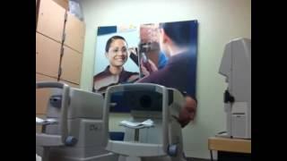 Abby at Davis vision