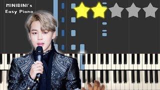 BTS JIMIN (지민) - Promise (약속) 《MINIBINI EASY PIANO ♪》 ★★☆☆☆ [Sheet]