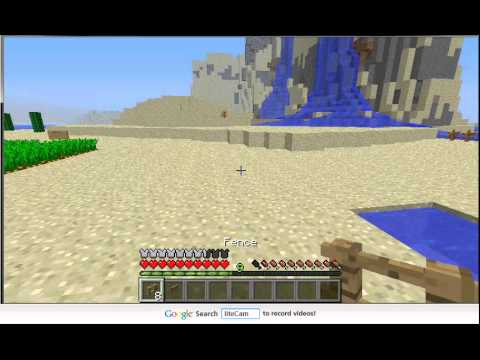 minecraft how to make fence. Minecraft How To Make Fence