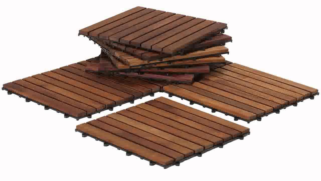 Bare Decor Ez Floor Interlocking Flooring Tiles In Solid