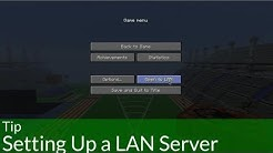 Tip: Setting Up a LAN Server