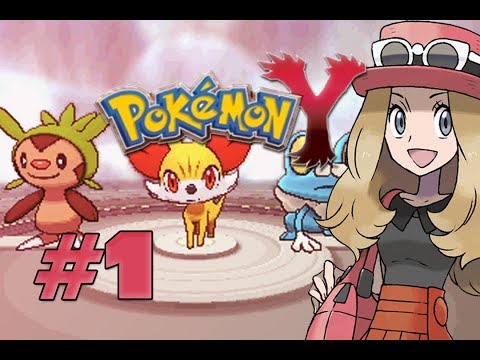 Let's Play Pokemon Y - Part 1: Journey START!