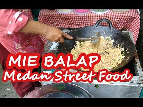 Mie balap Jl Monginsidi - kuliner medan street food.