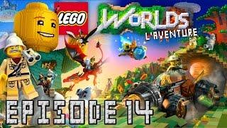 Épisode 14, Un Nouvel Espoir ! [Série] LEGO Worlds : L'Aventure