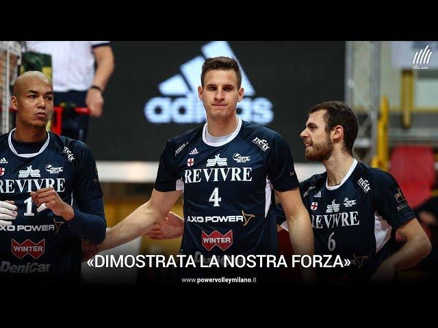 Superlega, l'intervista di Jan Kozamernik post Milano - Verona