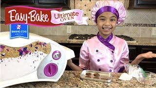 Yum Brownies with Easy Bake Ultimate Oven Baking star Edition | Toys Academy