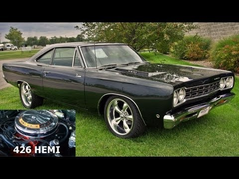 Road Runner Auto Sales >> 1968 Plymouth Road Runner 426 Hemi Mopar Muscle Car Youtube