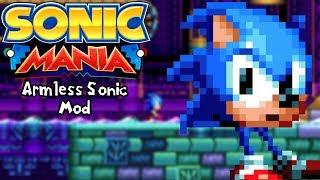 Sonic Mania Mods | Armless Sonic Mod (1080p/60fps)