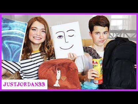 What Is In Our Back To School Backpacks / JustJordan33