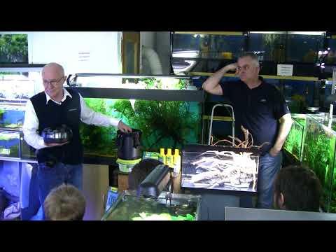Мастер класс по созданию аквариума Tetra с живыми растениями