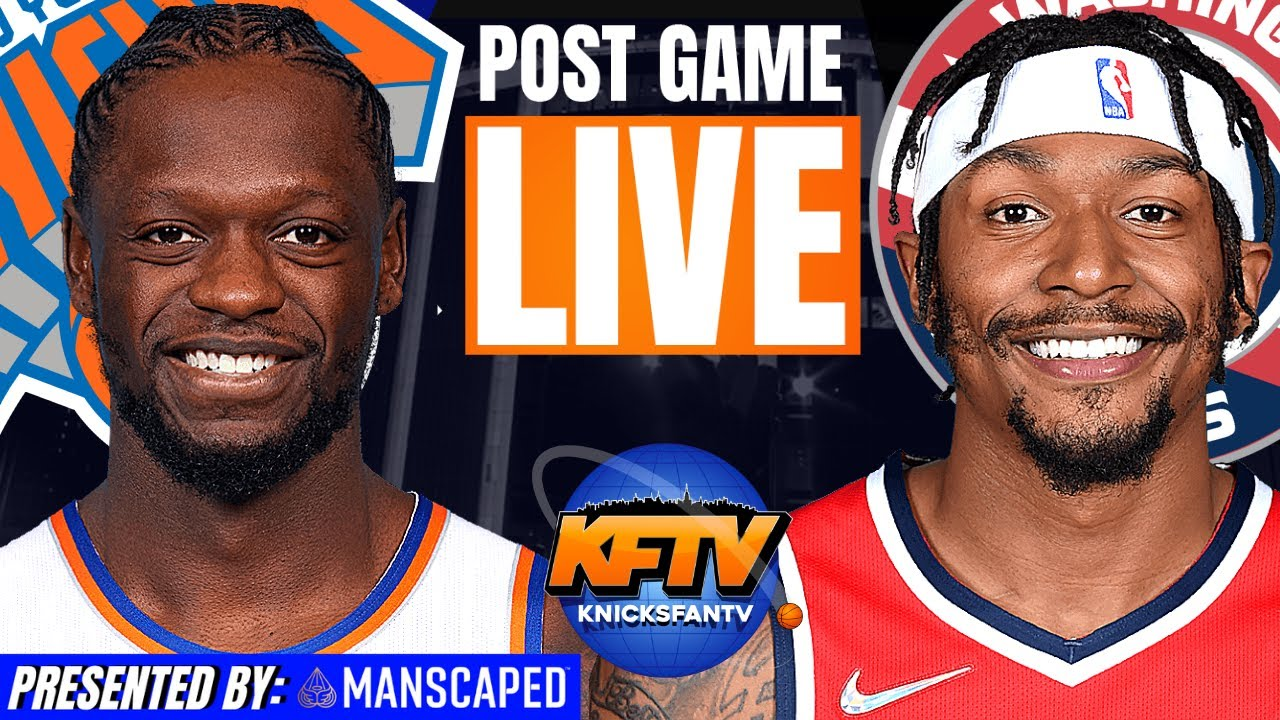 Download New York Knicks vs Washington Wizards Post Game Show: Highlights & Caller Reactions 10.15.21