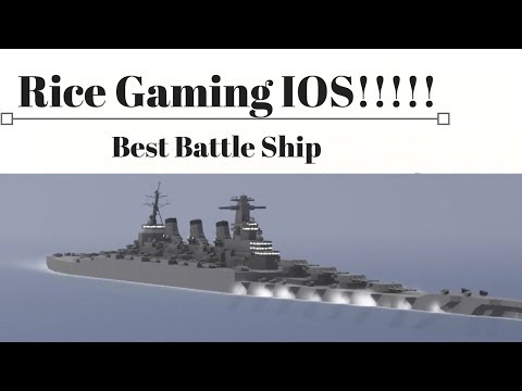 Naval Craft: Rice Gaming IOS, The Best Battleship!, Overview - YouTube