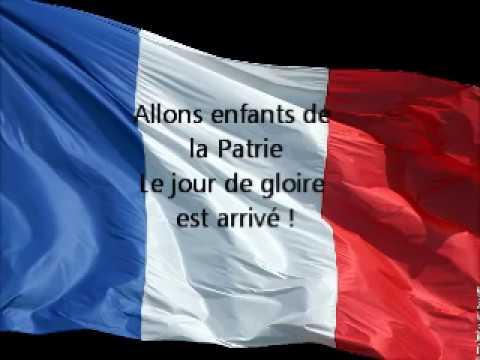La Marseillaise avec paroles (English subtitles)