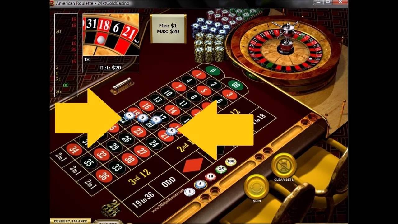 American roulette strategy. Betting system on 19 numbers ...