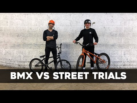 BMX VS Trials : Game Of Bike