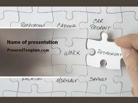 financial planning powerpoint template by poweredtemplate com youtube