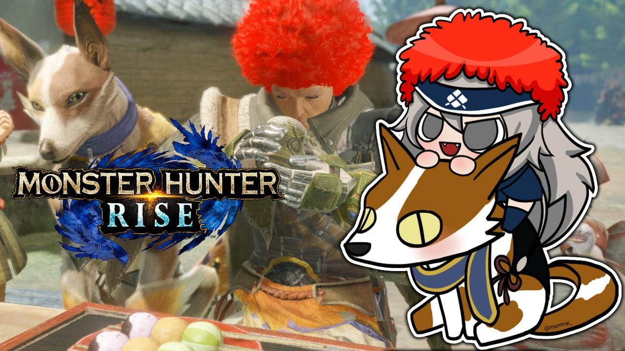 [Monster Hunter Rise]The third day when I started to learn various things! We are planning to go to the assembly hall with Lami![Shishiro Botan / Hololive]