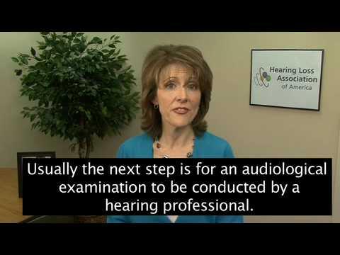 (3 of 7) HLAA - Hearing Loss Diagnosis