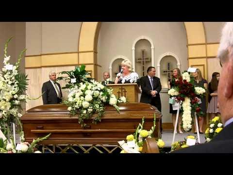 The memorial service of Jackie Jones Levine - November 11, 2012