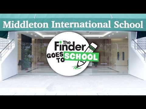 The Finder Goes To School With Middleton International Schoo