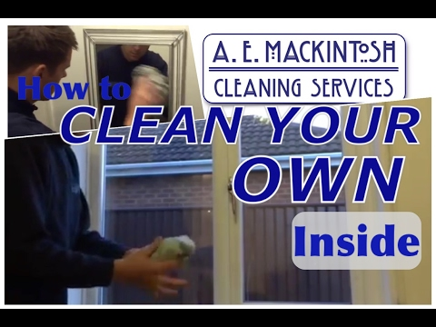 How to: Clean Your Own Windows Inside