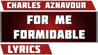 for-me-formidable---charles-aznavour
