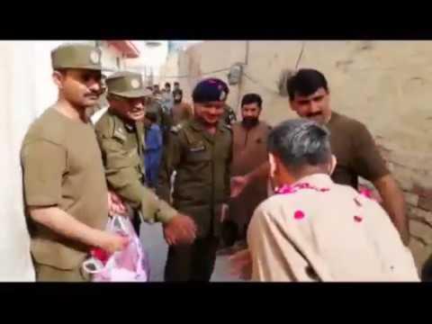 Police officer protocol at D.G khan