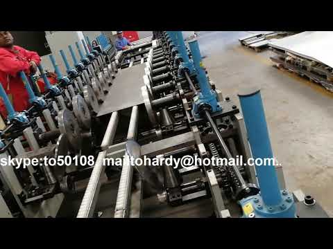 Industry cable tray production line Qatar Doha, cable tray roll forming machine