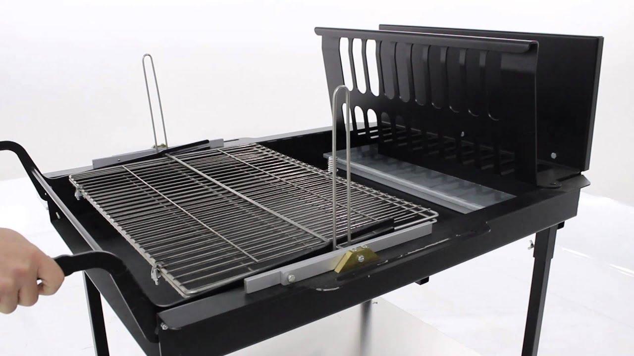 Il funzionamento della griglia girevole del bbq automatico for Griglia per barbecue bricoman