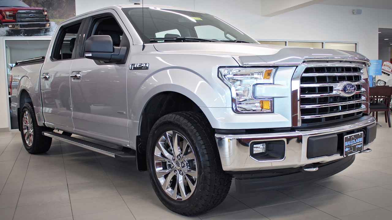 2017 ford f 150 xlt supercrew cab 2 7l ecoboost at eau claire ford lincoln quick lane youtube. Black Bedroom Furniture Sets. Home Design Ideas