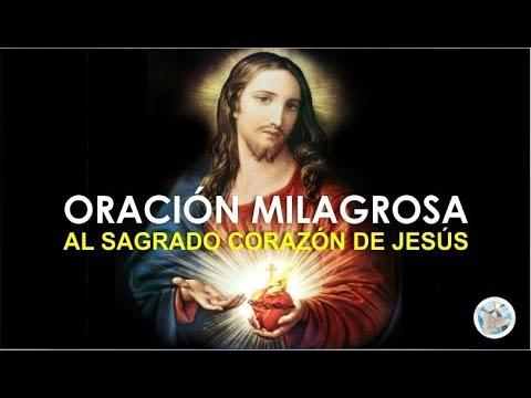 ORACIÓN MILAGROSA AL SAGRADO CORAZON DE JESÚS, PARA PEDIR AYUDA EN DIFICILES PROBLEMAS Y NECESIDADES