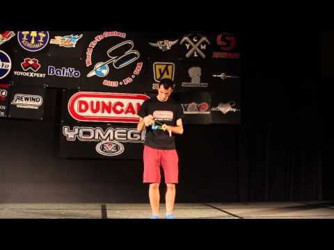 1A Finals - 1st - Janos Karancz - 2013 World Yo-Yo Contest Champion
