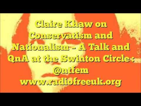 Claire Khaw on Nationalism And Conservatism at the Swinton Circle