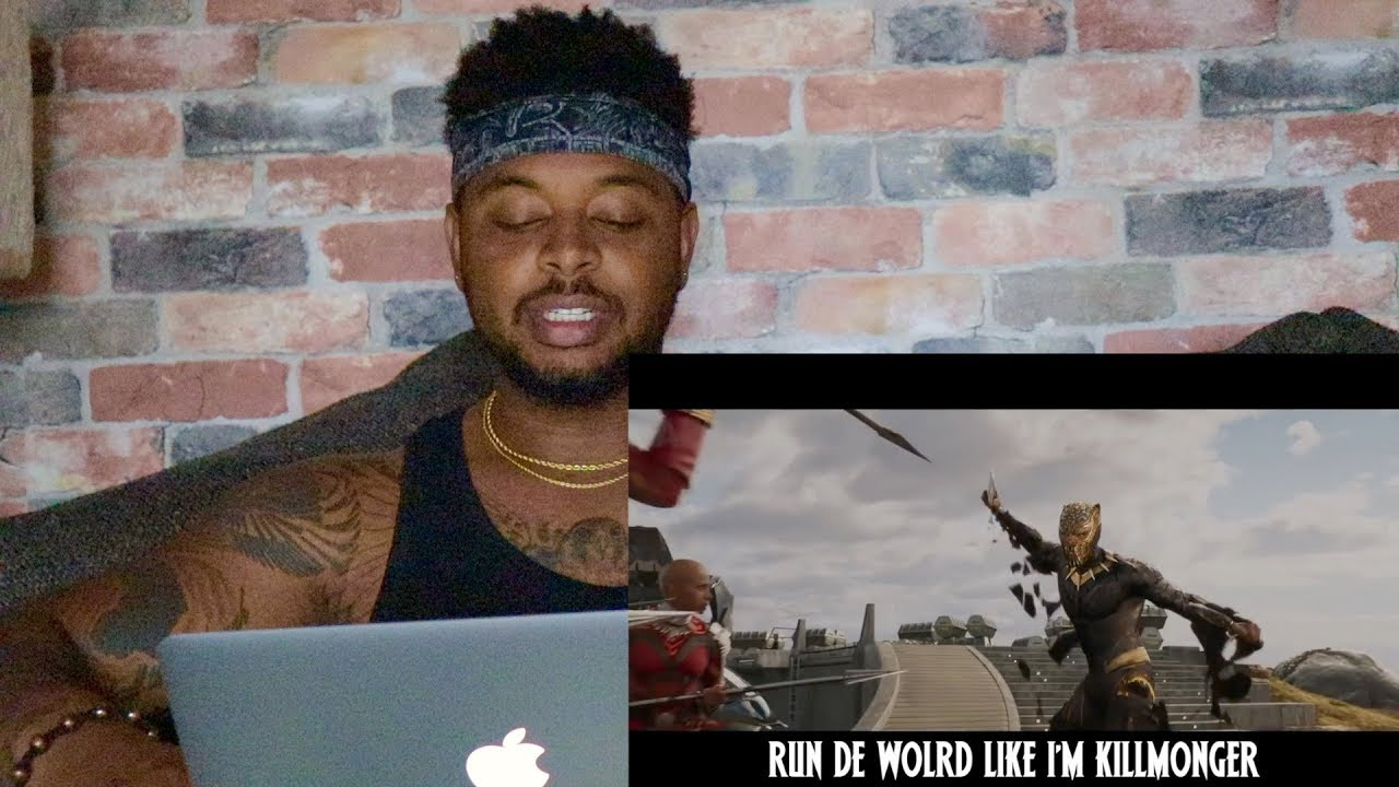 Black Panther – This Is Wakanda (Childish Gambino This Is America Parody) | Reaction