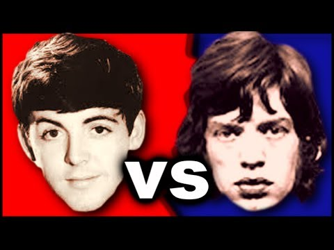 The Beatles vs Rolling Stones - Which Is The Best Band Ever?