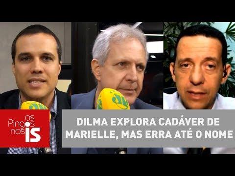 Debate: Dilma Explora Cadáver De Marielle, Mas Erra Até O Nome