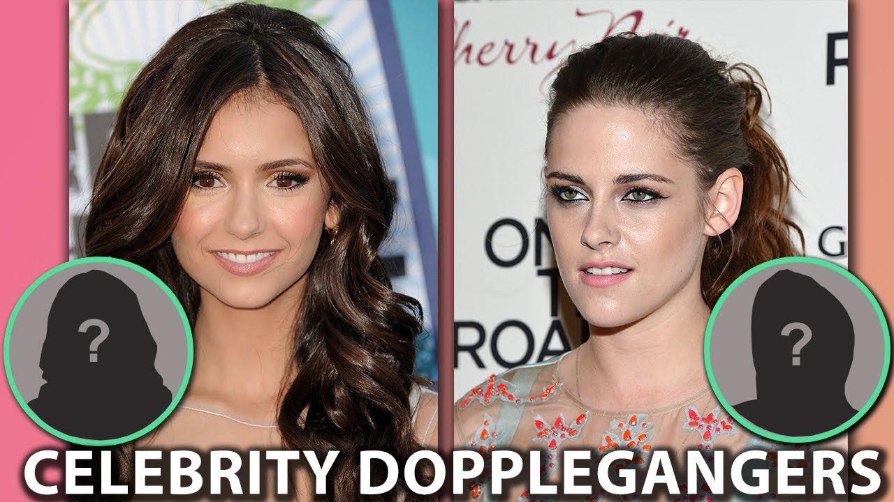 Celebrity Doppelgangers Nina Dobrev Kristen Stewart Selena Gomez Youtube