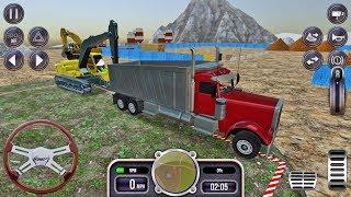 Construction Sim 2017 #1- Crane Truck Simulator Game Android gameplay #truckgames