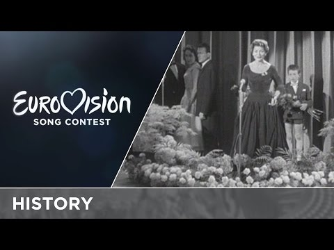 60 years ago Lys Assia was the first winner of the Eurovision Song Contest