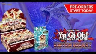Yu-Gi-Oh Ignition assault Box opening
