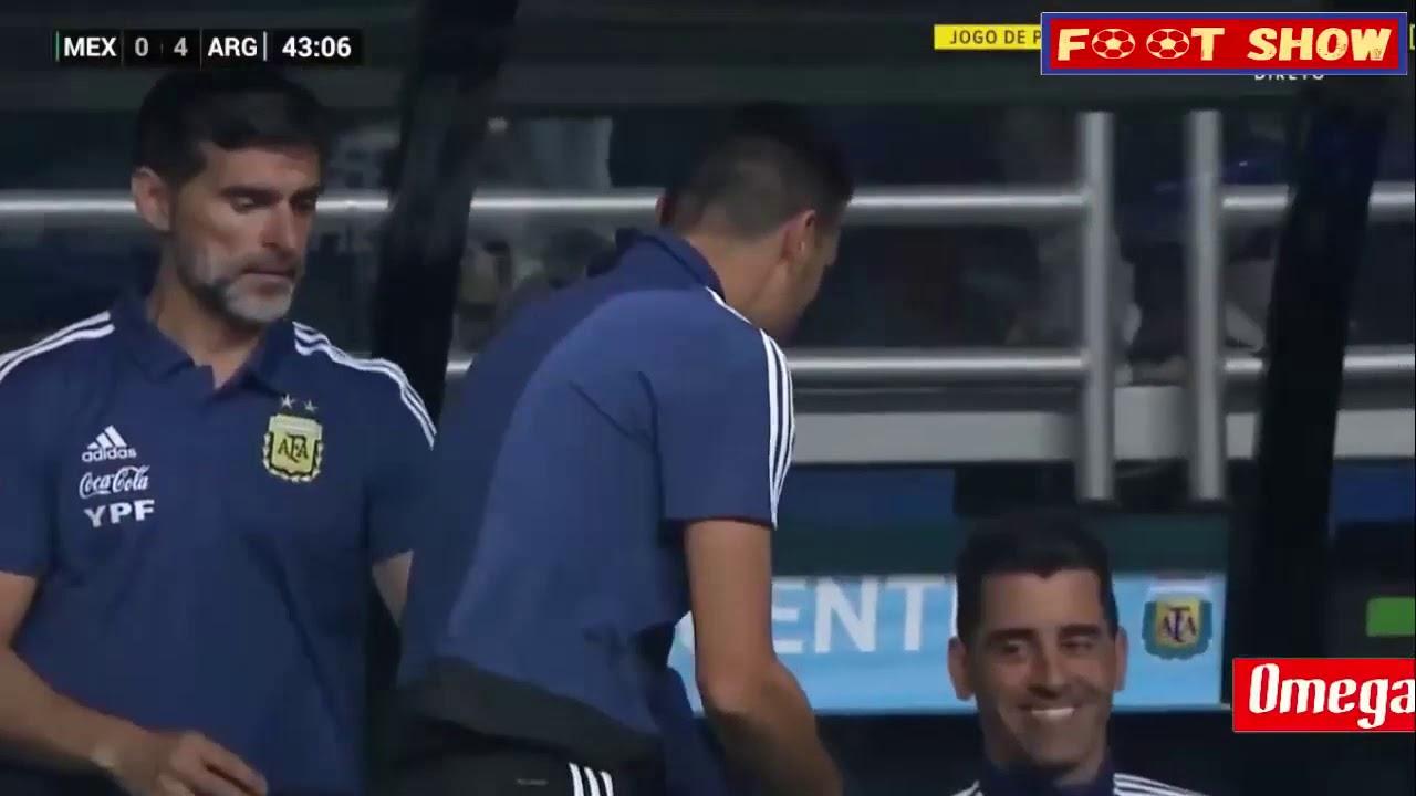 Download Argentina vs Mexico 4-0 Resumen y Goles (2019)