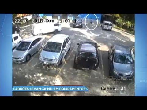 Ladrões roubam R$30 mil em equipamentos de fotógrafo