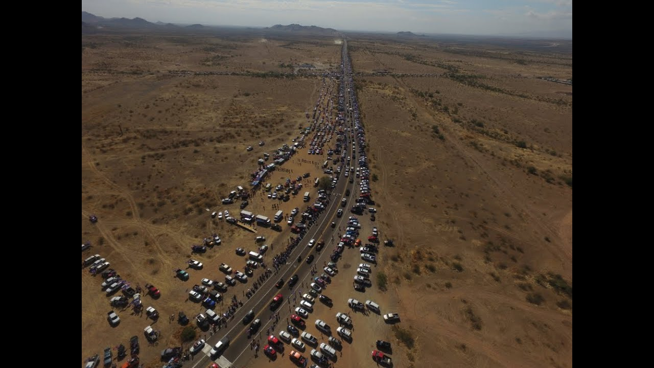 Patriots of Arizona - est. 96 mile long Trump Train / Staging Rally - 2020/10/25