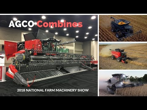 Talking with AGCO About New 2018 Combines