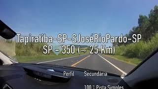 Tapiratiba - SP - São José Do Rio Pardo - SP (SP350)