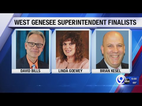 West Genesee School District announces superintendent finalists