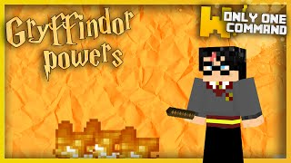 Minecraft - Gryffindor's Magic Powers with only one command block!