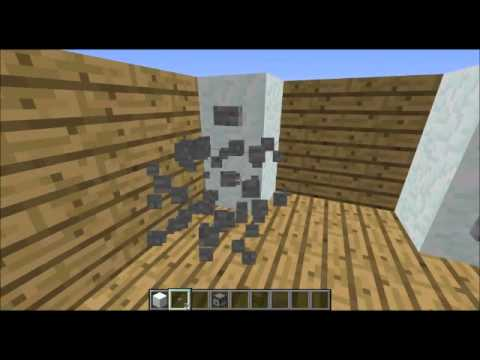 minecraft comment faire un frigo et cacher un coffre feat lkvelliot57 youtube. Black Bedroom Furniture Sets. Home Design Ideas